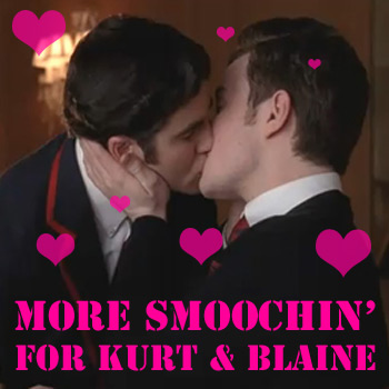 Blaine glee dating