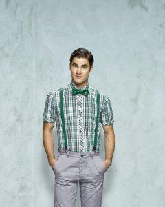 Blaine in  a bowtie