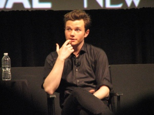 Chris Colfer at the New Yorker Festival 2011