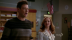 emma and finn in the choir room